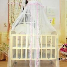 Baby Bed Mesh Dome Curtain Mosquito Net Durable Toddler Crib Cot Canopy Bed Net