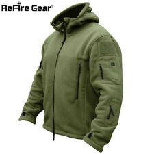 New Winter Military Tactical Fleece Jacket Men Warm Army Clothes Outerwear Coat