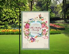 Personalized family name garden flag, mothers day gifts, nana gifts, lawn decor,
