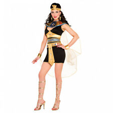 Ladies Adults Cleopatra Beauty Costume Fancy Dress Outfit Egyptian Goddess Sexy