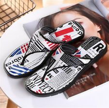 Women Flip Flop Open Toe Slippers Summer Beach Shoes Slippers UK Flag Casual-NEW