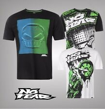 Mens No Fear Large Motocross Graphic Short Sleeves T Shirt Top Size S M L XL XXL