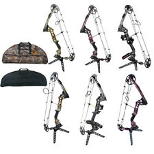 20-70lbs. Archery Compound Bows Hunting Set Left/Right Handed Competition W/ Bag