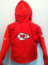 KANSAS CITY CHEIFS YOUTH JACKET  *NWT* Reebok Youth S - XL