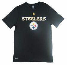 NFL - NWT Pittsburgh Steelers Logo Youth Black T-Shirt - Sizes: Youth M, L, XL