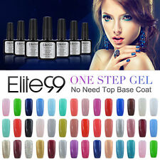 Elite99 Soak Off One Step UV Gel Polish Varnish Primer Manicure No Need Top Coat