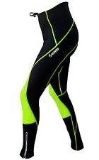 Zimco Pro Winter High Viz Cycling Thermal Tight Padded Bike Tight/Pant  2219
