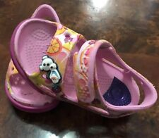 Crocs Sandals, Girls Toddler ,size 6 c,color Pink