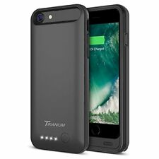 iPhone 8 Battery Case 3200mAh Portable Power Charge Extended Battery Black