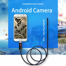 1-5M 5/7/8mm 6LED Android WIFI Endoscope Waterproof Borescope Inspection Camera