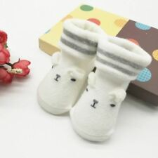 Lovely Toddler Infant Baby Boy Girl Soft Anti-slip Sole Socks Newborn Socks 0-6M