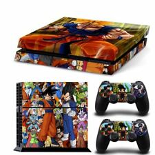 Dragon Ball Poster Vinyl Skin For Play Station 4 Console Decal Sticker 2pcs Cont