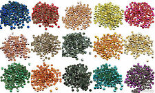 4mm Iron On Hot Fix Metal Studs in Varies Colours and Varies Lots