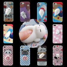 Squishy 3D Soft Silicone Cat Panda TPU Phone Case Cover for iPhone 7 6s plus HL5