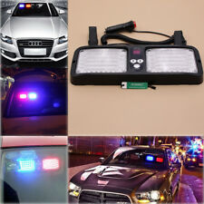 New Car Sun Visor Strobe Flash Light Emergency Warning Lights 86 LED Multi-color