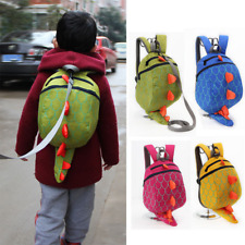 US Stock Kids Dinosaur Schoolbag Backpack Toddler Anti-Lost Bag Durable Design