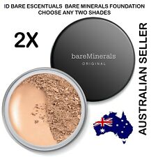 2 x Bare Minerals Original SPF 15 Loose Powder Foundation 8g  BareMinerals