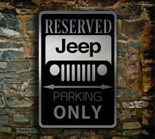 Jeep Parking Only Sign – Jeep Signs GARAGE SIGN Jeep Gift