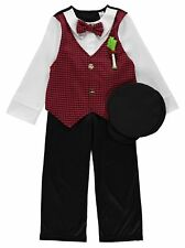 Traditional Welsh Boys Fancy Dress Up Outfit Costume St David's Day Wales NEW