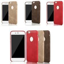 New Ultra Thin Synthetic Leather Phone Case Cover Solid Soft Back Skin E456
