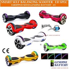 Hover Self Electric Scooter Balance Board Wheel Air Skate Board Bluetooth Lights