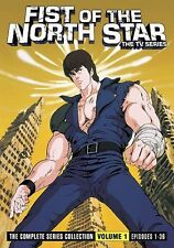 Fist of the North Star: The Series - Vol. 1 (DVD, 2010, 6-Disc Set)
