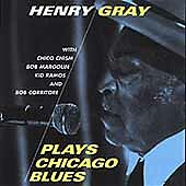 Henry Gray - Plays Chicago Blues - CD - SEALED! NEW! Free S&H! OOP! RARE BLUES!