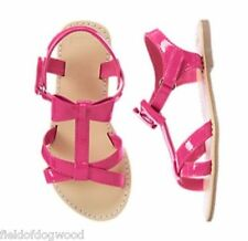 NWT GYMBOREE Pretty Poppy Pink Bow Sandals shoes  5 8 9 10 11 12 13 1 2 3 Girls