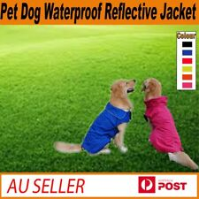 Pet Dog Waterproof Reflective Fleece Jacket Coat Winter Warm Clothes XS-3XL
