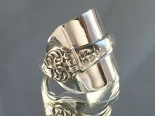 Legal Solid Sterling Silver Spoon Rings 1924 David L Fullerton  Sizes MQRS