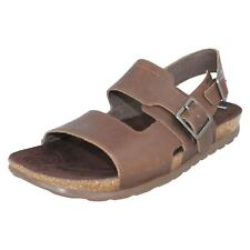 MENS MERRELL DOWNTOWN J91299 OPEN TOE BUCKLE LEATHER SUMMER SANDALS SHOES SIZE