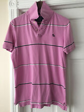 Abercrombie & Fitch Mens Slim Muscle Polo Shirt PreOwned