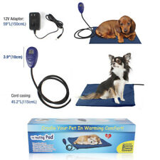 For Pet Dog Cat Puppy Safety Electric Heating Heater Heated Mat Pad Blanket Bed