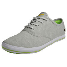 Voi Jeans Fiery Mens Classic Casual Plimsolls Pumps Trainers Marl Grey