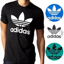 Adidas Men's Originals Trefoil Short Sleeve Cotton Tee T Shirt S-XL