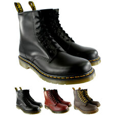 Womens Dr Martens 1460 Classic Lace Up Leather Ankle Army Boots US Sizes 5-10