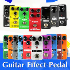 KOKKO 16 kinds of Guitar Effects Pedal Portable Guitar Parts & Accessories ON