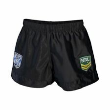 Canterbury Bulldogs NRL Kids Supporter Shorts BNWT Rugby League Clothing