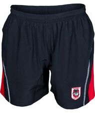 St George Dragons NRL Kids Microfibre Training Footy Shorts BNWT Rugby Clothing