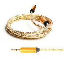 For Phone iPod 3.5mm Male to Male Car Aux Auxiliary Cord Stereo Audio Cable HL26