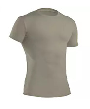 Under Armour Mens Tactical Heat Gear Compression S/S Shirt 1216007 Sand  NWT