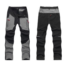 Mens Quick Dry Breathable Waterproof Outdoor Fishing Hiking Pants Trousers NWT