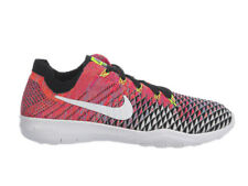 NEW WOMENS NIKE FREE TR FLYKNIT 2 RUNNING TRAINING SHOES TRAINERS BLACK / WHIT