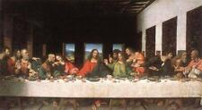 The Last Supper (classic Da Vinci religous art print)