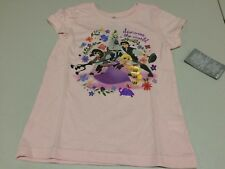 NWT Disney store Rapunzel Tangled The Series Girls Tee Shirt Top Princess S L
