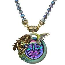 NEW KIRKS FOLLY MARINA MERMAID SEAVIEW WATER MOON MAGNETIC ENHANCER AND NECKLACE