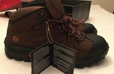 NWT Hudson ST EH Steel Toe Brown Work Boots Men W02194 MID Cut Hiker New w/ Box
