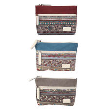 New Women Girl Lady Retro Canvas Coin Bag Purse Change Wallet Card Case Holder