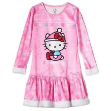 HELLO KITTY Girls Pajamas NIGHTGOWN Sleepwear NWT Sizes Small(6-6X), Medium(7-8)