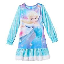 DISNEY Girls FROZEN ELSA Pajamas NIGHTGOWN Sleepwear NWT Size 10
